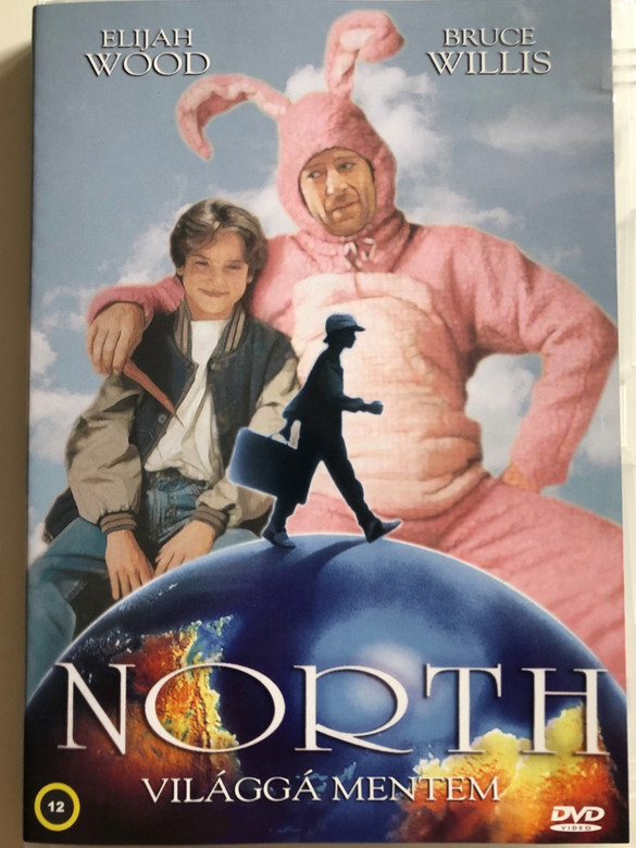North DVD 1994 Világgá Mentem / Directed by Rob Reiner / Starring: Elijah wood, Bruce Willis, Dan Aykroyd, Jon Lovitz (5999882941189)