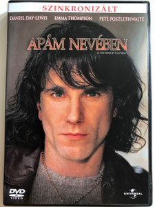 In the Name of the Father DVD 1993 Apám nevében / Directed by Jim Sheridan / Starring: Daniel Day-Lewis, Emma Thompson, Pete Postlethwaite (5996051040377)