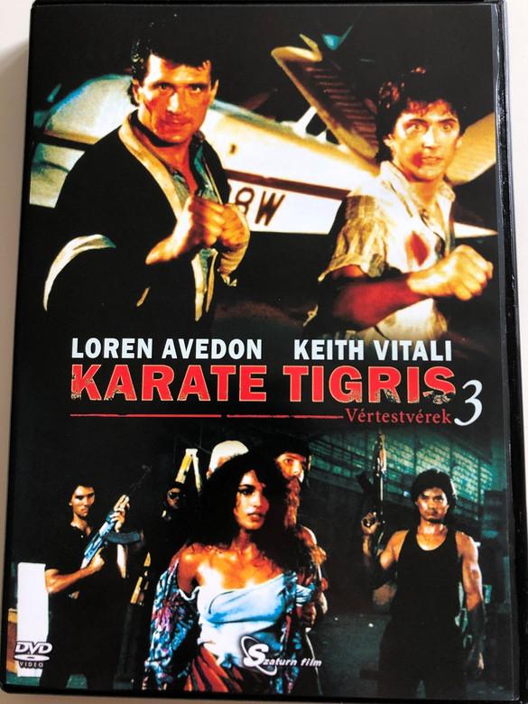 No Retreat, No Surrender 3: Blood Brothers DVD 1990 Karate Tigris 3: Vértestvérek / Directed by Lucas Lowe / Starring: Loren Avedon, Keith Vitali (5999884099093)
