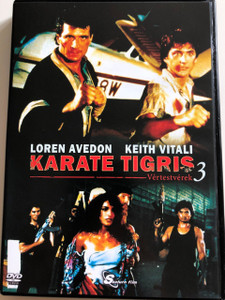 No Retreat, No Surrender 3: Blood Brothers DVD 1990 Karate Tigris 3: Vértestvérek / Directed by Lucas Lowe / Starring: Loren Avedon, Keith Vitali (5999884099093)