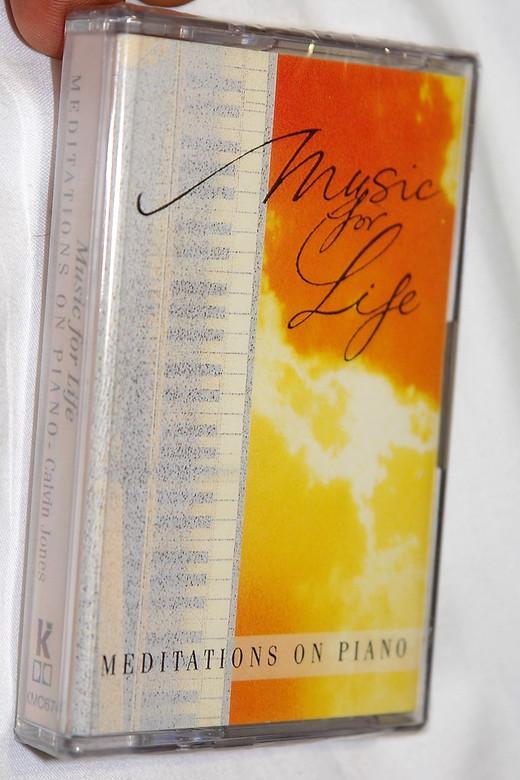 Music for Life / Meditations on Piano - Calvin Jones / Kingsway Music / Audio Cassette (5019282067446)