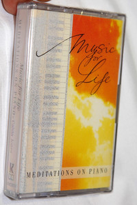 Music for Life / Meditations on Piano - Calvin Jones / Kingsway Music / Audio Cassette (5019282067446)