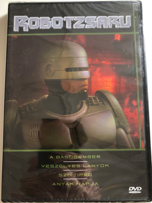 Robocop DVD 1994 Robotzsaru (TV Series) / Created by Michael Miner & Edward Neumeier / Starring: Richard Eden Yvette Nipar / Disc 5 / 4 episodes (5999882941349)