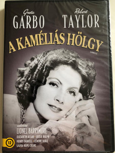 Camille DVD 1936 A kaméliás hölgy / Directed by George Cukor / Starring: Greta Garbo, Robert Taylor, Lionel Barrymore / Black&White classic (5996514012064)