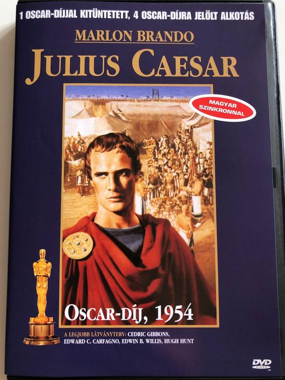 Julius Caesar DVD 1953 / Directed by Joseph L. Mankiewicz / Starring: Marlon Brando, James Mason, John Gielgud, Louis Calhern, Edmond O'Brien, Greer Garson, Deborah Kerr / 1954 Oscar-winner (599881068702)