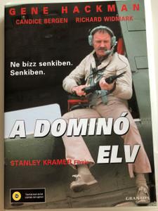 The Domino Principle DVD 1977 A Domino elv / Directed by Stanley Kramer / Starring Gene Hackman, Candice Bergen, Richard Widmark (5999546330663)