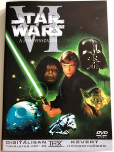 Star Wars Episode VI. The return of the Jedi DVD 1983 Csillagok Háboruja VI. A Jedi Visszatér / Directed by Richard Marquand / Starring: Mark Hamill, Harrison Ford, Carrie Fisher, Billy Dee Williams, Anthony Daniels / Story by George Lucas / 2004 release - Digitally enhanced Sound and Video (THX)