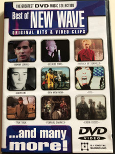 Best of New Wave DVD 2001 / Original Hits & Video Clips / Human League, Belouis Some, A Flock of Seagulls, Adam Ant, Bow Wow Wow, Xtc, Talk Talk, Feargal Sharkley, China Crisis / Region Free (8711539052614)