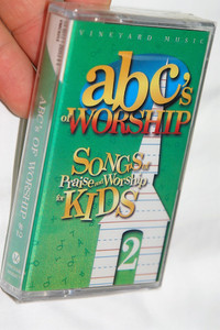 ABC's of Worship #2 / Songs Of Praise and Worship for Kids 2 / Vineyard Music / Audio Cassette (601212931344)