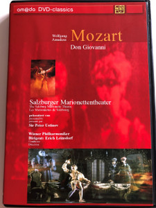 W.A. Mozart: Don Giovanni DVD 2003 / Directed by Georg Wübbolt / Text and Narration by Sir Peter Ustinov / The Salzburg Marionette Theatre / Wiener Philharmoniker / Conducted by Erich Leinsdorf (4028462020059)