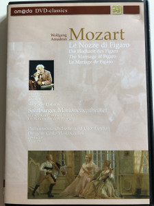 W.A. Mozart: Le Nozze di Figaro DVD 2002 The Marriage of Figaro / Directed by Georg Wübbolt / Text and Narration by Sir Peter Ustinov / The Salzburg Marionette Theatre / London Philharmonic Orchestra and Choir / Conducted by Carlo Maria Giulini (4028462020042)