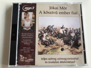 Jókai Mór - A kőszívű ember fiai / Audio Book / Read by Andrea Hatás / Directed by Kolos Kazal / Teljes szöveg szómagyarázattal és irodalmi áttekintéssel / 2 CD mp3 set / Varázsbetű (9789630677479)