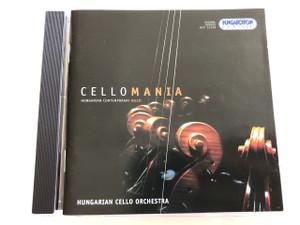 CelloMania - Hungarian Contemporary Music / Hungarian Cello Orchestra / Audio CD 2003 / Works by Zoltán Kovács, László Király, Levente Gyöngyösi, János Vajda, Máté Hollós, Ákos Bánlaki, László Melis / Hungaroton Classic / HCD 32108 (5991813210821)