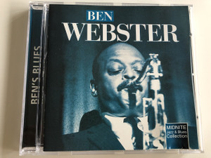 Ben Webster - Ben's Blues / Midnite Jazz & Blues Collection / Audio CD 2000 / MJB080 (8712155068201)