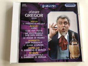 József Gregor: Haydn, Donizetti, Paisiello, Rossini / Buffo Arias And Duets József Gregor Bass / Hungaroton Classic / HCD31737 (5991813173720)