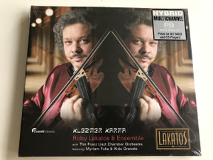 Klezmer Karma / Roby Lakatos & Ensemble / Franz Liszt Csamber Orchestra / Myriam Fuks & Aldo Granato / Audio CD 2006 / Unique fusion of Gypsy and Klezmer music / AvantiClassic (5414706102428)