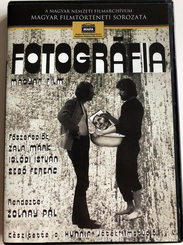 Fotográfia - Magyar Film DVD 1972 Photography - Hungarian film / Directed by Pál Zolnay / Starring: Zala Márk, Iglódi István, Sebő Ferenc / Magyar nemzeti Filmarchívum / Magyar Filmtörténeti Sorozat (5999884681045)