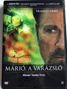 Márió, a varázsló DVD 1997 Mario the magician / Directed by Almási Tamás / Starring: Nyakó Júlia, Franco Nero, Egyed Attila, Mucsi Zoltán / Hungaro-Italian film drama (5999544258662)