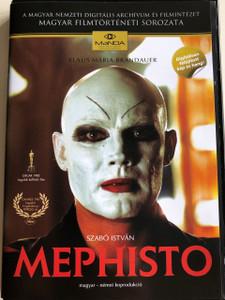 Mephisto DVD 1981 / Directed by Szabó István / Starring: Klaus Maria Brandauer, Krystyna Janda, Bánsági Ildikó, Rolf Hoppe, Cserhalmi György (5999884681229)