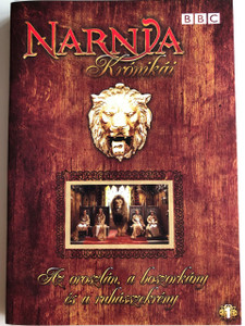 The Chronicles of Narnia: The Lion, the Witch and the Wardrobe DVD 1988 Narnia Krónikái: Az oroszlán, a boszorkány és a ruhásszekrény / BBC / Directed by Marilyn Fox / Starring: Richard Dempsey, Sophie Cook, Jonathan R. Scott, Sophie Wilcox, Barbara Kellerman / 6. episodes (5996473001765)