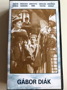 Gábor Diák VHS 1956 / Directed by Kalmár László / Starring: Zenthe Ferenc, Krencsey Mariann, Sinkovits Imre, Greguss Zoltán, Andaházi Margit / Színes magyar operettfilm / Hungarian operetta film (5996357120575)
