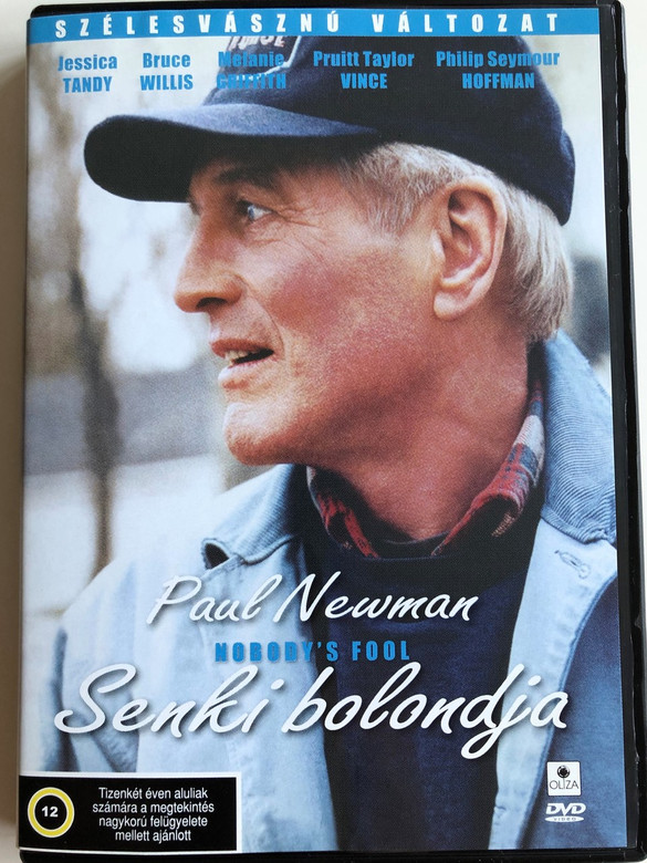 Nobody's fool DVD 1994 Senki bolondja / Directed by Robert Benton / Starring: Paul Newman, Paul Newman, Jessica Tandy, Bruce Willis, Melanie Griffith (5999552130189)