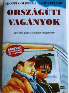 Homer and Eddie DVD 1989 Országúti vagányok / Directed by Andrei Konchalovsky / Starring: Whoopi Goldberg, James Belushi, Karen Black, Anne Ramsey, Beah Richards (5999553601664)