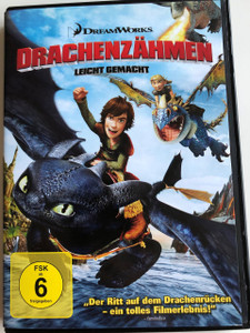 How to train your Dragon DVD 2010 Drachenzähmen leicht gemacht / Directed by Chris Sanders, Dean DeBlois / Starring: Jay Baruchel, Gerard Butler, Craig Ferguson, America Ferrera, Jonah Hill , Christopher Mintz-Plasse, T. J. Miller, Kristen Wiig (4047552500387)