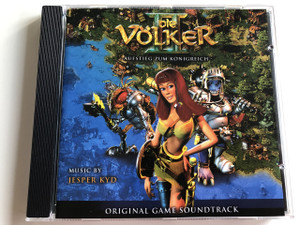 THE NATIONS - Die Völker II: Aufstieg Zum Königreich / Music By Jesper KYD / Original Game Soundtrack / AUDIO CD 2001 (4005939808426)