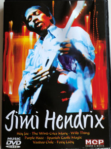Jimi Hendrix DVD 2007 / Hey Joe, The Wind Cries Mary, Wild Thing, Purple Haze / MCP Sound & Media (9002986612001)
