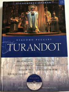 Turandot - Giacomo Puccini / Metropolitan Opera Chorus and Orchestra / Conducted by Leopold Stokowski / With Audio CD / Hardcover / Kossuth (9789630968621)