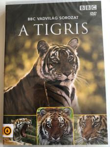 A Tigris / Tiger: The Elusive Princess / BBC Wildlife Series / Narrated by Sir David Attenborough / DVD 1999 / BBC Vadvilág Sorozat (5996473002816)