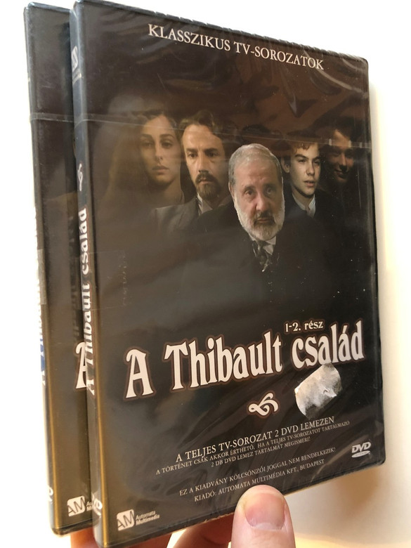 Les Thibault DVD 2003 A Thibault család / Directed by Jean-Daniel Verhaeghe / Starring: Jean Yanne, Jean-Pierre Lorit, Geordy Monfil , Didier Bezace / French TV miniseries (5999552560504)