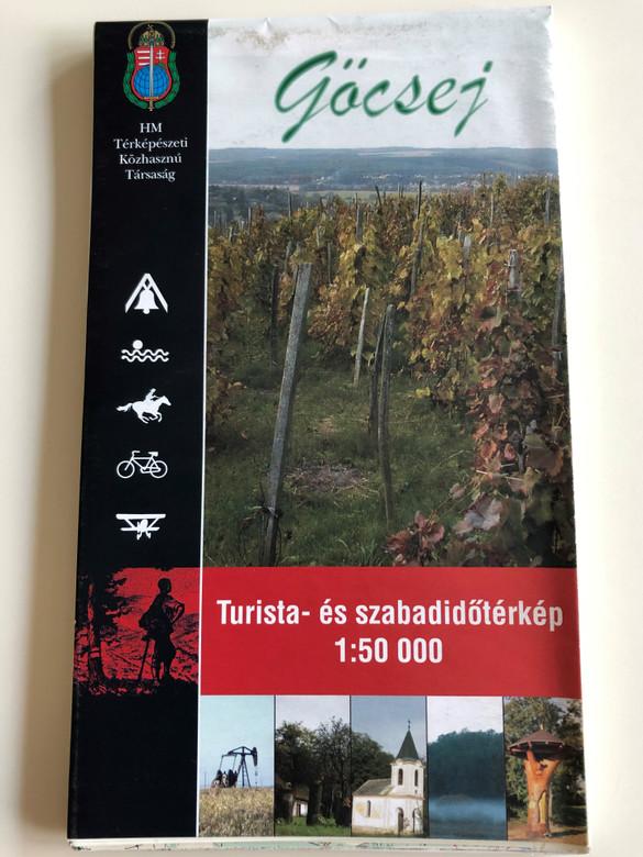 Göcsej szabadidő és turistatérkép / 1 : 50.000 / Tourist and free-time map of the Göcsej region / Hungarian, English and German legend (9789632570273)