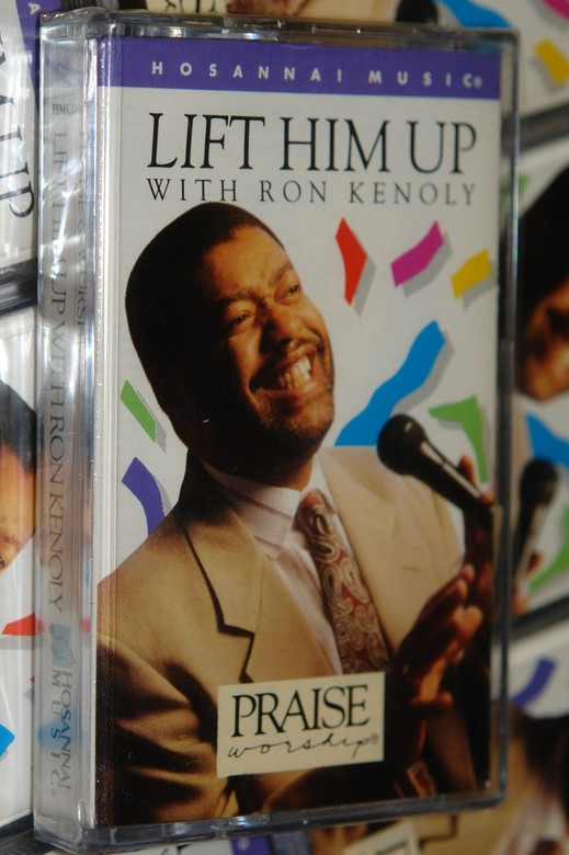 Lift Him Up - Ron Kenoly / Hosanna! Music / Christian Live Praise and Worship Music / Audio Cassette (000768004449)