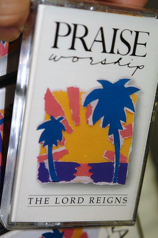 The Lord Reigns - Hosanna! Music 1989 - Bob Fitts / Christian Praise and Worship - Audio Cassette