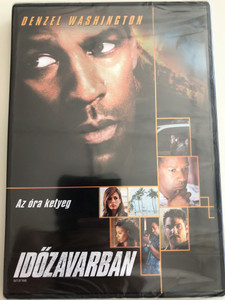 Out of Time DVD 2003 Időzavarban / Directed by Carl Franklin / Starring: Denzel Washington, Eva Mendes, Sanaa Lathan, Dean Cain (5999075601715)