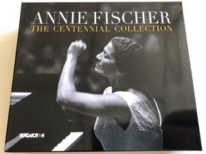 Annie Fischer - The Centennial Collection / Mozart, Beethoven, Schubert, Liszt / Audio CD set of 3 discs / Hungaroton / HCD 41011 (5991814101128)