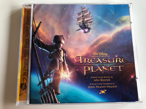 Walt Disney: Treasure Planet / An Original Walt Disney Records Soundtrack / Original Songs Written by John Rzeznik / Original Score Composed by James Newton Howard / AUDIO CD 2002 (5050466179722)