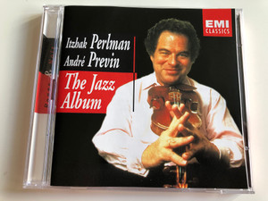 EMI CLASSICS / The Jazz Album: André Previn, Itzhak Perlman, Shelly Manne, Jim Hall, Red Mitchell / Rouge & Noir / AUDIO 2CD 2002 (724357528429)