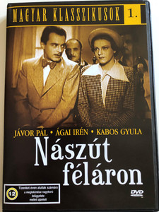 Nászút Féláron DVD 1936 Half-Rate Honeymoon / Directed by Székely István / Starring: Jávor Pál, Ágai Irén, Kabos Gyula / Hungarian Classics 1. (5999881068863)