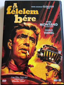 Le salaire de la peur (The Wages of Fear) DVD 1953 A Félelem vére / Directed by Henri-Georges Clouzot / Starring: Yves Montand, Charles Vanel, Folco Lulli, Peter Van Eyck (5996051840120)