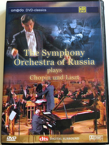 The Symphony Orchestra Of Russia Plays Chopin Und Liszt DVD / Conducted by Tugan Sohiev / Naum Shtarkman Piano / amado classics (4028462600336)