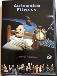 Automatic Fitness DVD 2015 / Created by Alejandra Tomei & Alberto Couceiro / A stop-motion animated movie on the human automatism