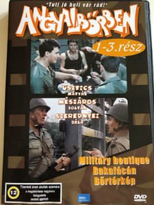 Angyalbőrben DVD 1991 / Directed by Gát György, Szurdi Miklós / Starring: Usztics Mátyás, Mészáros Zoltán, Szerednyei Béla / Hungarian TV Series / 3 episodes on disc (5999544560611)