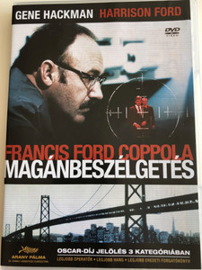The Conversation DVD 1974 Magánbeszélgetés / Directed by Francis Ford Coppola / Starring: Gene Hackman, John Cazale, Allen Garfield, Cindy Williams, Frederic Forrest, Harrison Ford (59996473011566)