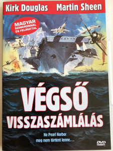 The Final Countdown DVD 1980 Végső visszaszámlálás / Directed by Don Taylor / Starring: Kirk Douglas, Martin Sheen, Katherine Ross, James Farentino (5999544560956)