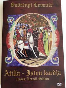 Attila - Isten kardja DVD by Szörényi Levente / Directed by Iglódi István, István Márton / Poems by Lezsák Sándor / Hungarian musical drama: Attila the Hun, God's sword (5999551920194)