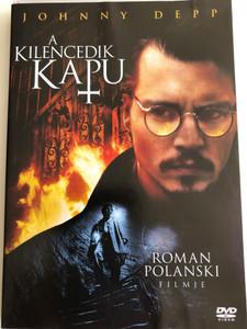 The Ninth Gate DVD 1999 (A Kilencedik kapu) / Directed by Roman Polanski / Starring: Johnny Depp, Lena Olin, Frank Langella, James Russo, Jack Taylor