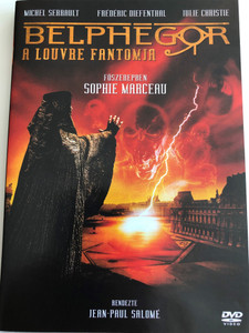 Belphégor – Le fantôme du Louvre (Phantom of the Louvre) DVD 2001 Belphégor a Louvre fantomja / Directed by Jean-Paul Salomé / Starring: Sophie Marceau, Michel Serrault, Frédéric Diefenthal, Julie Christie (5996473011740)